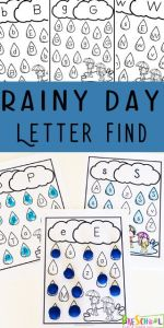 Alphabet Worksheets Find Of Free Rainy Day Letter Find This Free Printable Alphabet Worksheets are A Fun Way for Preschoolers to Practice Letter Recognition with A Fun Spring Activities for Preschoolers Preschool Alphabet Letterrecognition
