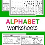 Alphabet Worksheets French Of Alphabet Letter Worksheets A Z Frogs and Fairies