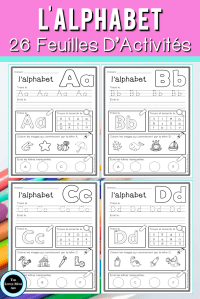 Alphabet Worksheets French Of are You Looking for French Alphabet Worksheets to Reinforce Letter Identification and Beginning sounds these French Alphabet Activity Sheets are No Prep and Simple to Use Alphabet Enfrançais French Littératie Maternelle Préscolaire Kindergarten Preschool Learnfrench Tpt