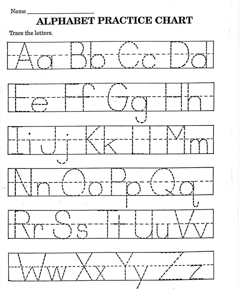 ABC Printable Worksheet for Kindergarten