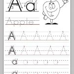 Alphabet Worksheets Of Free Alphabet Worksheets to Print A for Apple