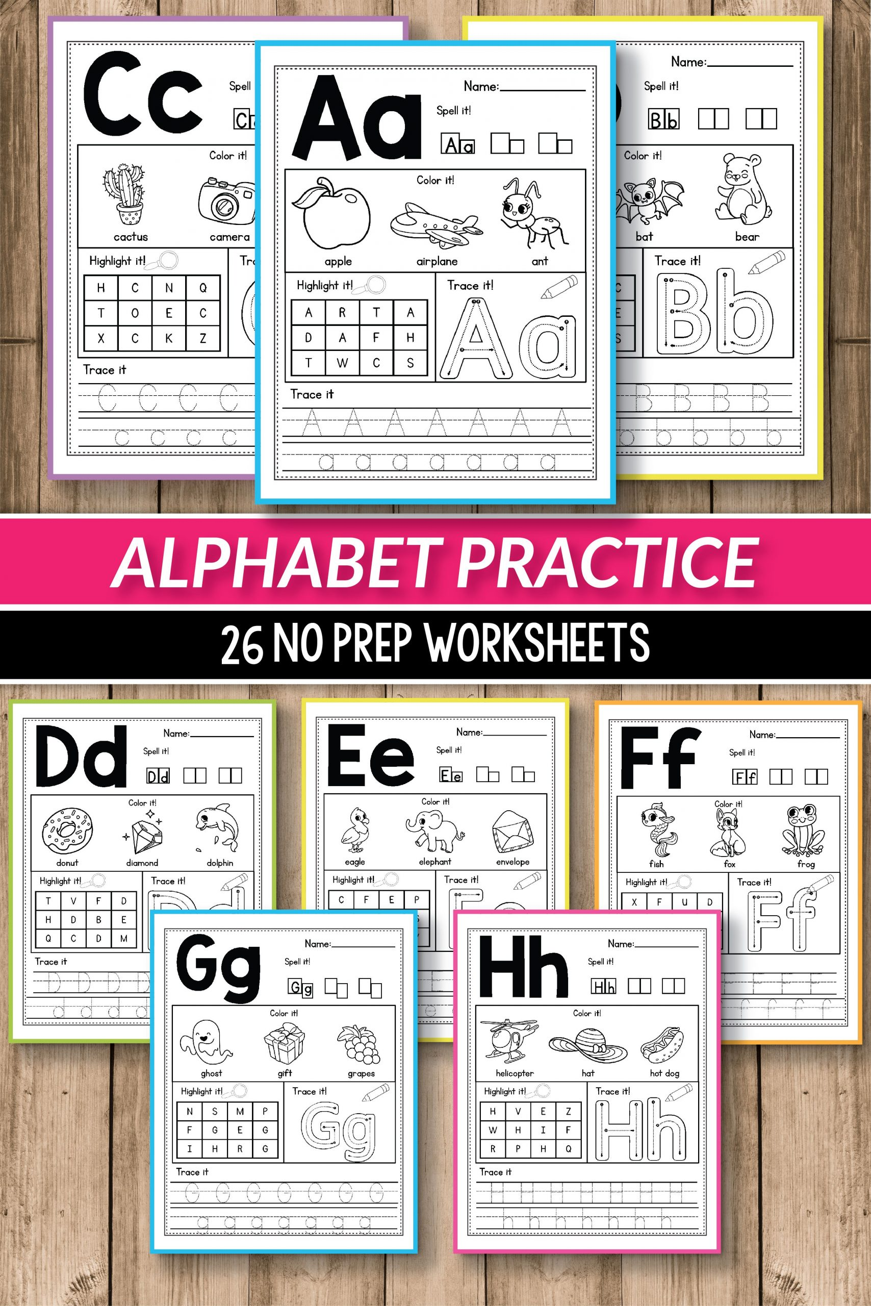 Alphabet Worksheets Primary Of Alphabet Printable