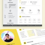Architecture Cv Resume Creative Cv Of 50 Free Cv Resume Templates – Best for 2019