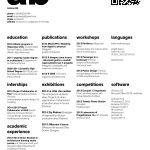 Architecture Resume Design Architects Of Image 2 Of 20 From Gallery Of the top Architecture Résumé Cv Designs Submitte