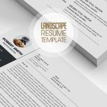 Architecture Resume Design Landscape Of Fresh Simple Clean Resume Templates and Cover Letter