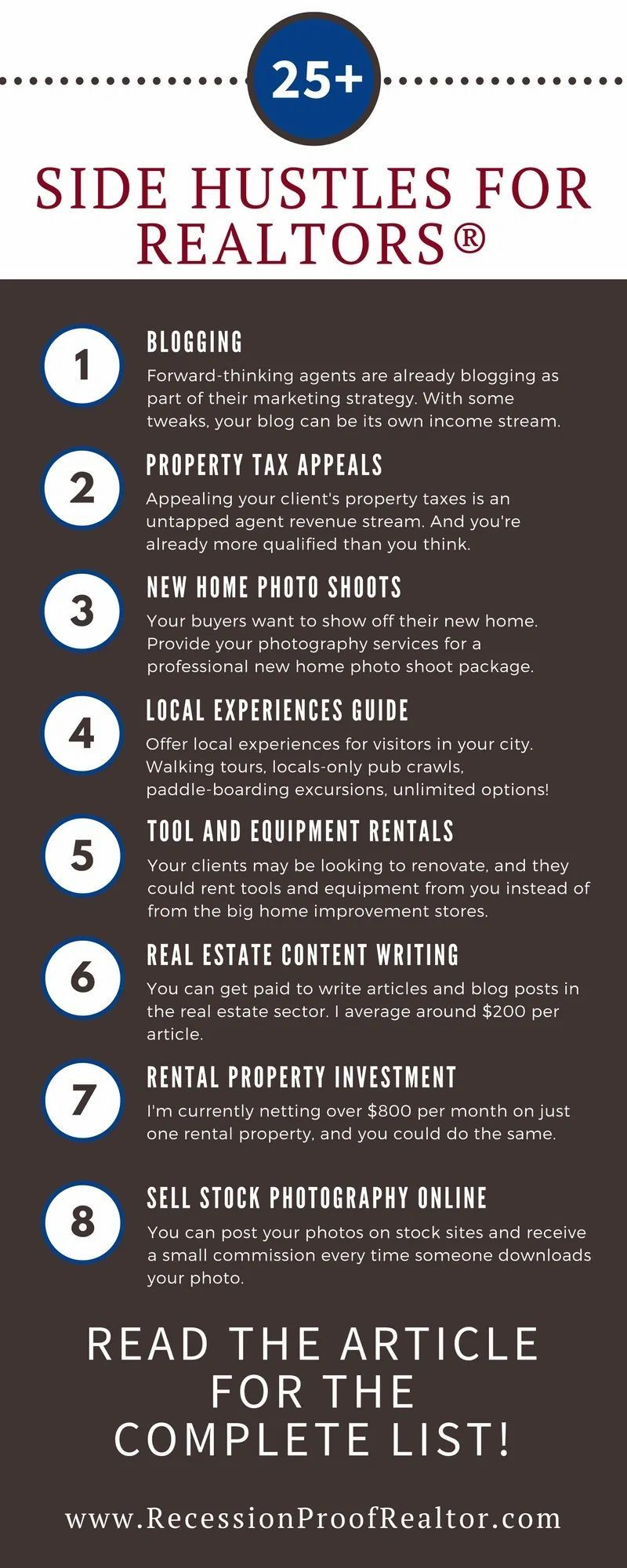 25 Ways to Make Money as a Real Estate Agent