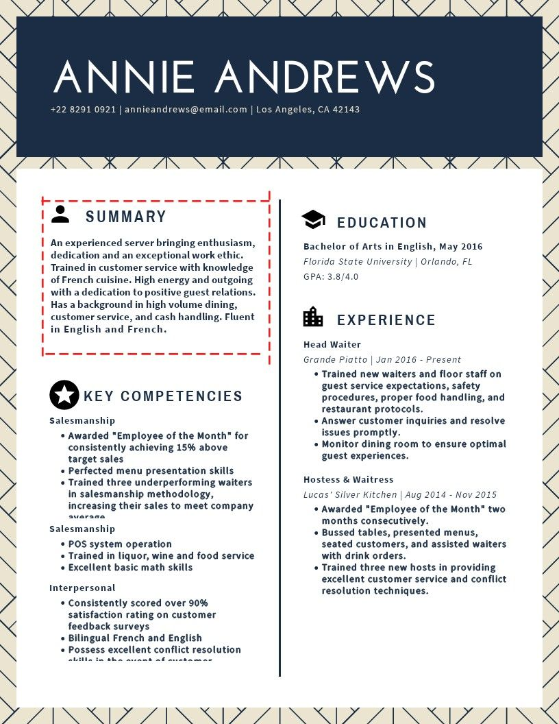 How to write a resume summary that s a job interview