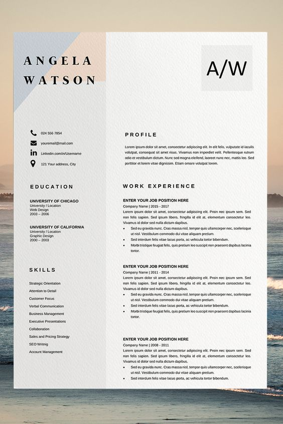 resume outline word modern resume template good resume examples resume builder template