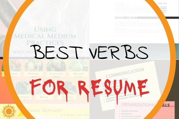 Best Verbs for Resume Of More Healing Stories From Chronic & Mystery Illness