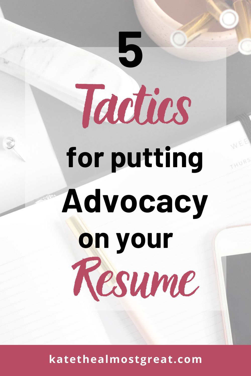 Resume Tips 5 Tactics for Putting Advocacy on Your Resume