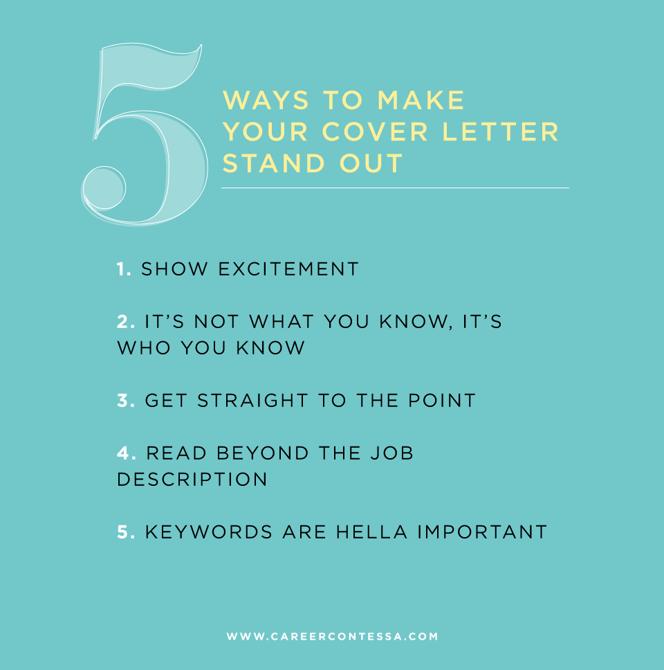 5 Opening Lines That Will Make Your Cover Letter Stand Out
