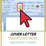 Cover Letter Template Free Microsoft Word Of Brochure Templates Free Microsoft Word 2007 Cover Letter In Brochure Templates for Word 2007