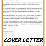 Cover Letter Template No Experience Of Cover Letter Template No Experience Resume format