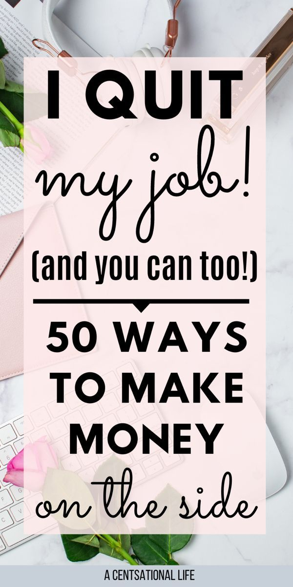 50 Creative Side Hustles To Make $100 Dollars A Day A CENTSational Life