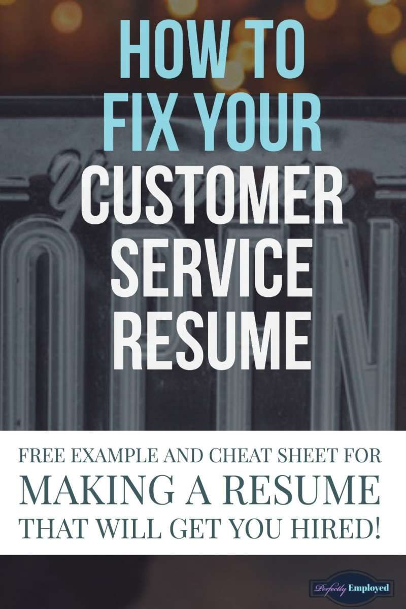 Customer Service Resume Example with Proven Results Perfectly Employed