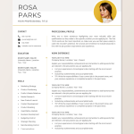 Customer Service Resume Template Of Creative Resume Template Instant Download