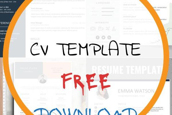 Cv Template Free Download Of 150 Creative Resume & Cv Template Free Download 2020