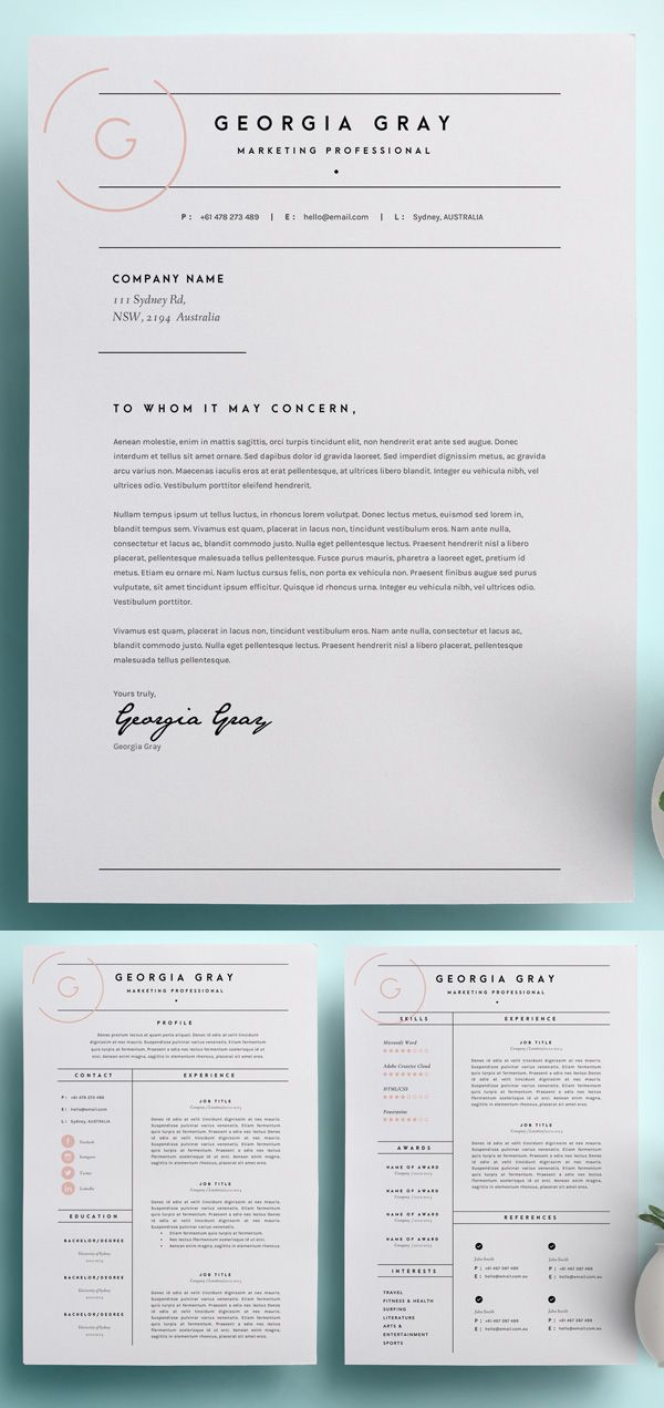 50 Best Resume Templates For 2018 1