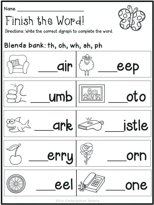 7 English Worksheets For Grade 1 - Free Templates