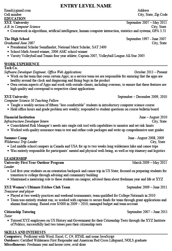 Entry Level Software Engineer Resume bravebtr Awesome Entry Level Software Engineer Resume bravebtr Entry Level Software Engineer Resume It really is well known that Entry Level Software Engineer Resume bravebtr are most important documents when you are searching for the job opportunities within any pany Before appearing for the interview you must send the continue to the potential pany for proving your aptness After viewing the listed details if the pany finds you suited to the