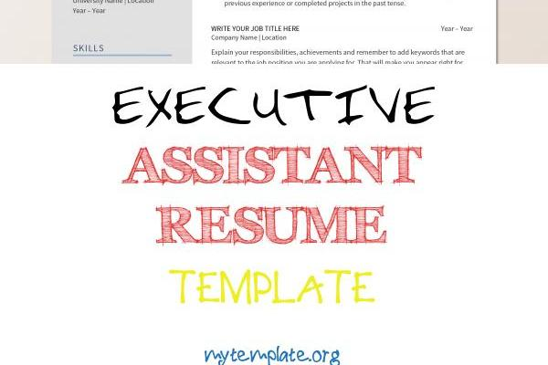 Executive assistant Resume Template Of Creative Resume Template Instant Download