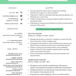 Executive assistant Resume Template Of Executive assistant Resume Example & Writing Tips