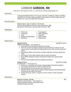 Experienced Nursing Resume Examples Of Use This Professional Registered Nurse Resume Sample to Create Your Own Powerful Job Application In A Flash