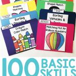 Free Printable Alphabet Worksheets toddler Preschool Of Using Basic Skill File Folders to Build Independence with Free Errorless File Folders Teaching Special Thinkers