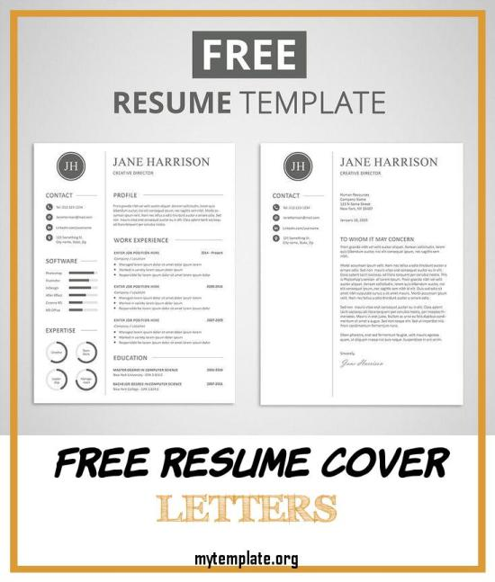 Free Resume And Cover Letter Templates from i2.wp.com
