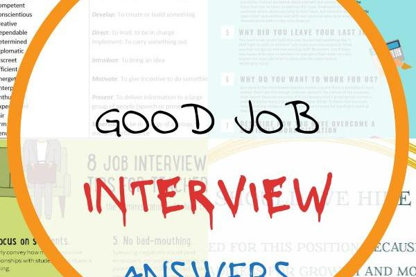 Good Job Interview Answers Of How to Pass A Job Interview Vocabulary Words You Should Know