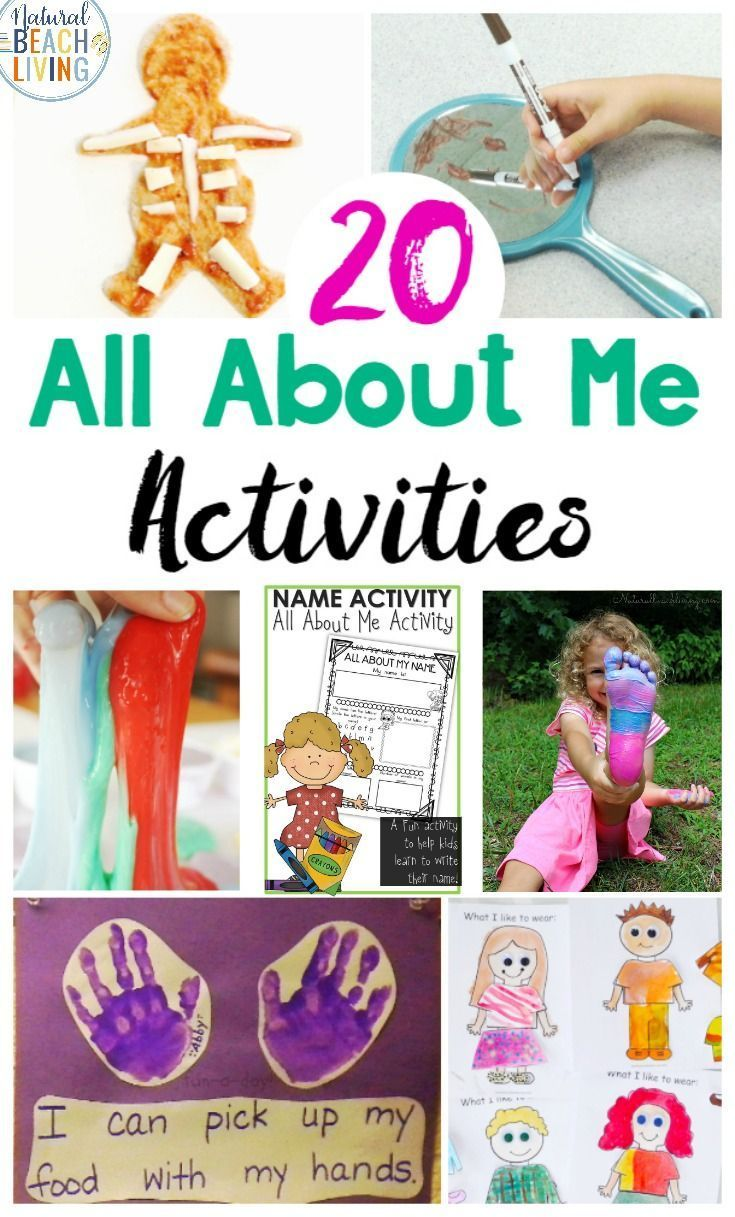 25 All About Me Preschool Theme Activities Natural Beach Living