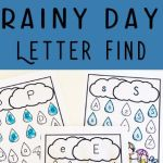 Letter A Activities for Preschool Printables Alphabet Worksheets Of Free Rainy Day Letter Find This Free Printable Alphabet Worksheets are A Fun Way for Preschoolers to Practice Letter Recognition with A Fun Spring Activities for Preschoolers Preschool Alphabet Letterrecognition