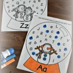 Letter Recognition Activities Printables Alphabet Worksheets Of Free Snow Globe Letter Find