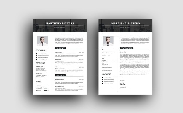 Professional Resume Templates Of Milan Clean Professional Resume Template