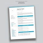 Professional Resume Templates Of Professional Resume Template In Microsoft Word Free Used