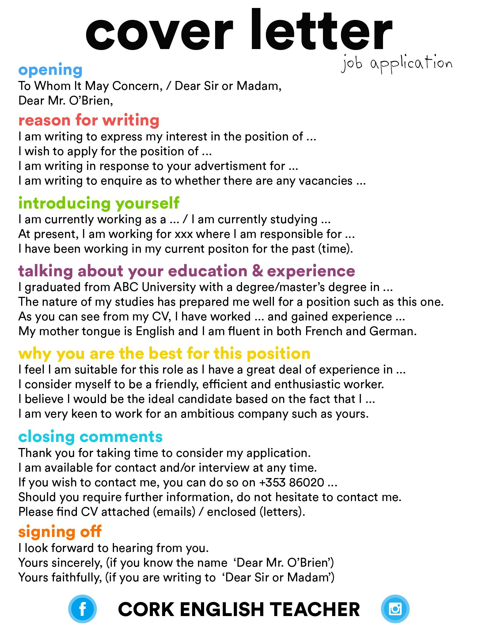 27 Difference Between Cover Letter And Resume