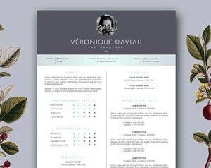 Resume Cover Letter Template Creative Of Creative Resume Design Modern Resume Template Cover Letter for Ms Word & Pages 2 Page Resume Template Instant Download • Etoilé