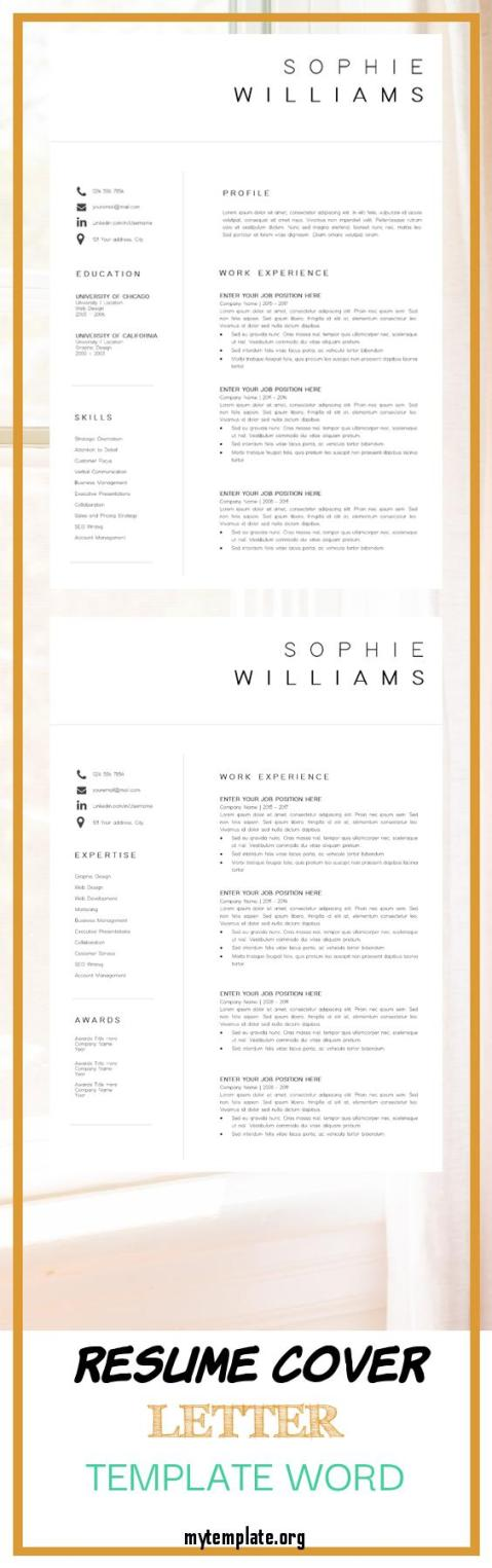 Word Cover Letter Template Lukisan