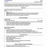 Resume for College Students Writing Of Resume Template College Student Fresh High School Resume Template & Writing Tips