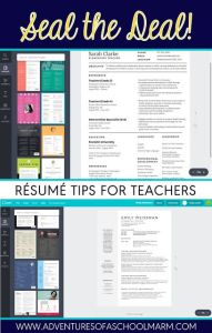 Resume for Students Of Résumé Writing for Teachers