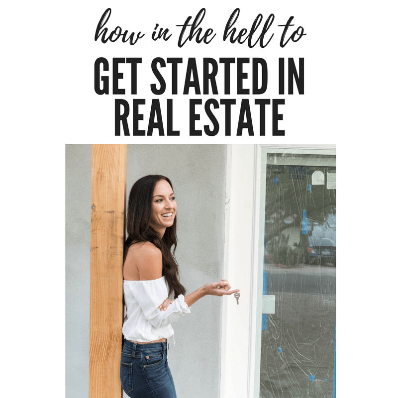 Tips and tricks on how to started in real estate