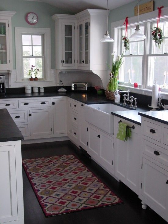 This is exactly what I have planned for our new kitchen Glad to see what it looks like when done Portland Maine Traditional Kitchen Design Remodel Decor and Ideas my dream kitchen