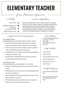 Resume Skills List Teacher Of Elementary Teacher Resume Samples & Writing Guide Resume Genius Resume Skills List Learn the Best Writing Interview Products Letters Articles Cv Template Ideas & Words Tips From Website Elementary Teacher Resume Samples & Writing Guide