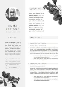 Resume Template Downloadable Of Resume Template 4page Cv Template Cover by theresumeboutique