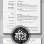 Resume Template Free Downloadable Simple Of Resume Template Resumetemplate Cv Cvtemplate Coverletter Indesign Photoshop Illustrator Templates