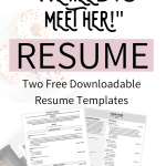 Resume Template Professional Of Free Downloadable Resume Templates and Tips From A Professional Career Coach