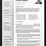 Resume Template Professional Of Professional Resume Template Free Fresh Sample Resumes Professional Resume Templates and Cv