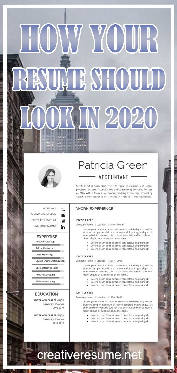 Accountant Resume Resume Template Professional Resume Creative Resume CV Template Resume Word