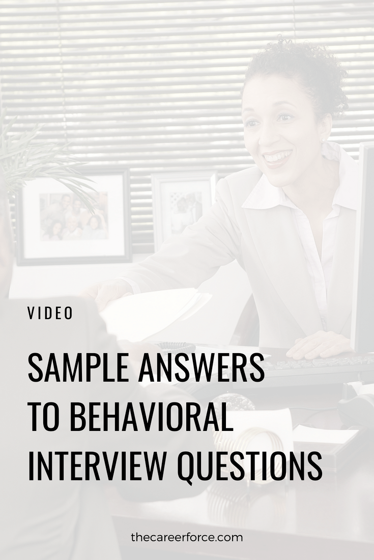 Behavioral Interview Questions & Answers from a Hiring Manager