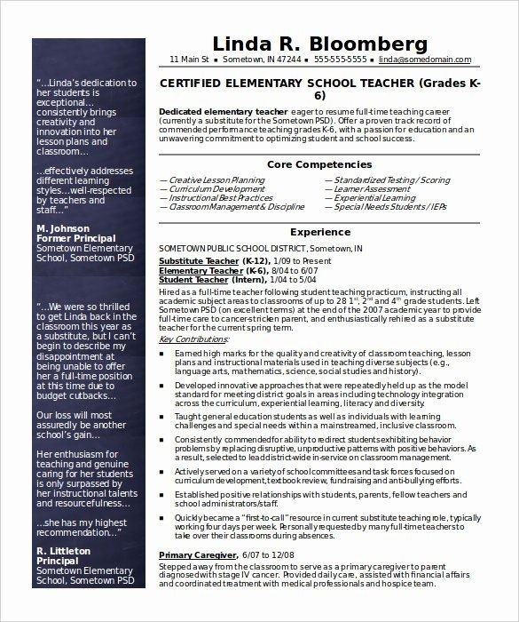 Free Sample Resume for Teachers Luxury How to Make A Good Teacher Resume Template